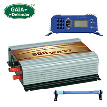 600W LCD display Wind Power Grid Tie Inverter with Dump Load Controller Resistor for 3 Phase wind turbine(China)