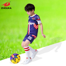 OEM soccer jersey for boys,short sleeve,full sublimation custom,free shipping(China)