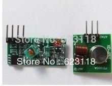 Free Shopping  1pair 433M superregenerative module wireless transmitter module / RF wireless receiver module