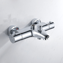 Buy EVERSO Stainless Steel Thermostatic Mixing Valve Thermostatic Shower Faucets Bathroom Shower Faucet Set Wall Mounted for $60.83 in AliExpress store