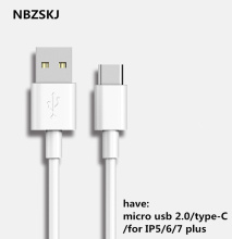 "micro usb cable 2.1A fast for Alcatel One Touch Idol 3 5.5"" Mobile phone Charging Data line/type-c cable for Huawei Ascend Y300"