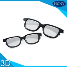 1pcs Black Color Cheap Light Passive 3D Circular Polarized Reald Glasses for cinema or 3D TV,Circular Polarized 3D Glasses