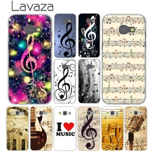 Lavaza I love old Music musical note Sound Cover Case for Samsung Galaxy A3 A5 A7 J3 J5 J7 2015 2016 2017 Grand Prime Note 4 3 2(China)