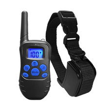 330 Yards Rechargeable Water-resistant/Rainproof Remote Control Electronic Pet Dog Shock Training Collar Dog Training Tool