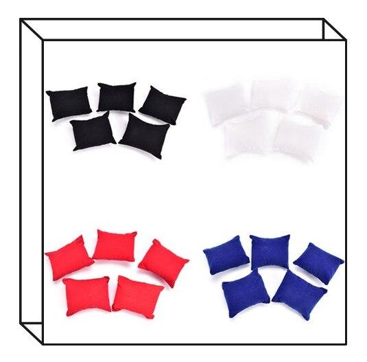 5pcs Bracelet Watch Display Holder Pillow Jewelry Display Holder Pillow Cushion 4 Colors Jewelry Bangle Holder Pillows