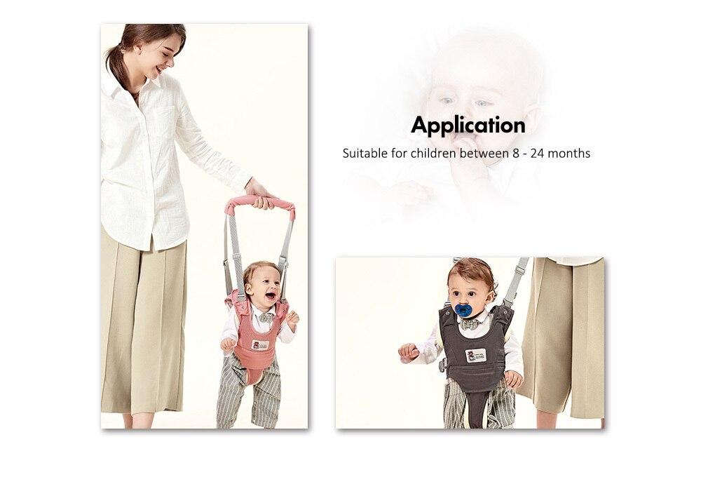 Bethbear Toddler Walker Stand Up Walking Learning Helper for Baby