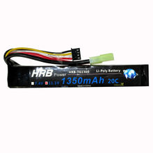 HRB 11.1V 1350mAh 20C Max 40C 3S RC LiPo Battery For Mini Airsoft BB Gun RC Model Helicopter Quadcopter(China)