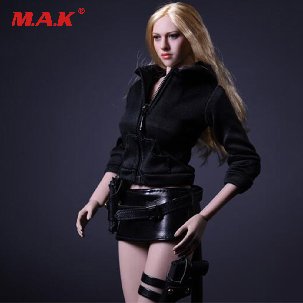 1/6 Scale Female Clothes Set 17NSS-B Coat &amp; Vest &amp; Skirt for 12 inches Action Figures<br>