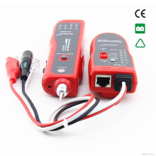 Free shipping, NOYAFA NF 806R Network Telephone Cable Tester LAN Wire Tracker With Headphone