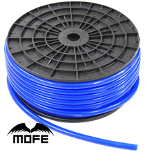 MOFE Racing 30MM MOFE Blue 100% Silicon 4MM  High Performance Tubing Silicone Vacuum Tube Pipe Hose