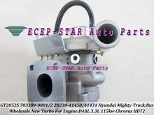GT2052S 703389 703389-0002 28230-41450 28230-41431 Turbo Turbocharger For HYUNDAI Truck Mighty II Chrorus Bus HD72 00- 3.3L D4AL(China)