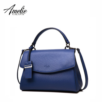 AMELIE GALANTI женская сумка мессенджер  кроссбоди сумка твердые Экологичный PU материал известных  брендов интерьер карман на молнии рюкзак сумки 3 цвета