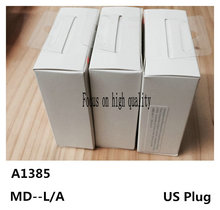 10Set/Lot,High Quality A1385 US Plug USB AC Power Charger Wall Adapter For iPhone 7 6s 6 plus 5S 5C 5 4S With Original Box