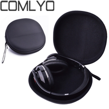 In Stock! COMLYO EVA Earphone Headphone Case for Audio Technica ATH M50 for Sony Monitor Headphones carry bag pouch Fast Ship(China)