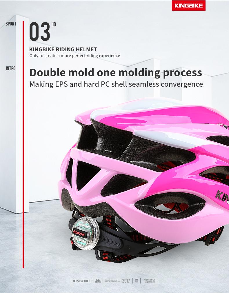 Cycling Helmet Pink Woman Road Bicycle Helmet-3