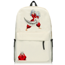 Anime Inuyasha Sesshoumaru Backpack Cosplay Shoulders Bag Backpack Cartoon Cute Schoolbag Satchel mochila 5 style