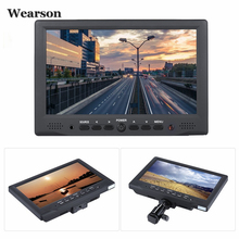 "Wearson 7""inch Digital Field Monitor 800x480 HD LCD Display High Definition Multimedia Interface Input for DSLR Full HD Camera"