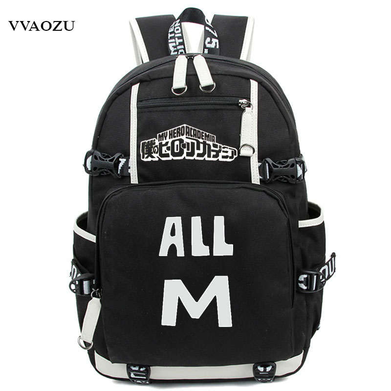 Anime Boku No Hero Academia Cosplay Backpack My Hero Academia Izuku Midoriya Rucksack Teenagers Schoolbag Shoulder Bags<br>