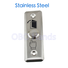 Hot sale! Stainless steel exit push button press button for access control system door push switch emergent door exit push(China)