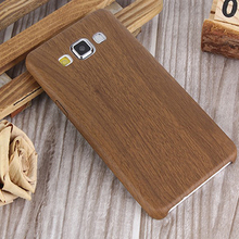 Wood Design Phone Case For Samsung Galaxy A3 2015 Silicone Soft Imitation leather Bag Cover Mobile Phone Cases for Galaxy A3000