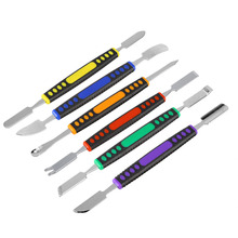 6pcs/Set Dual Ends Metal Spudger Set for iPhone iPad Tablet Mobile Phone Prying Opening Repair Tool Kit Hand Tool Set