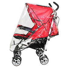 Universal Waterproof Rain Cover Wind Shield Fit Most Strollers Pushchairs Buggys(China)