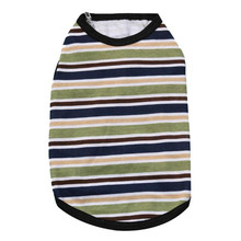 MUQGEW Clothes For Dogs High Quality Striped Cotton Jersey Vest Pet Clothing Hot Sale Dog Pet Suppliers on sale Fast Shipping(China)