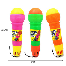 18.5*6CM Echo Microphone Mic Voice Changer Toy Gift Birthday Gift Present Kids Party Song Toys Kid Educational Learning P15