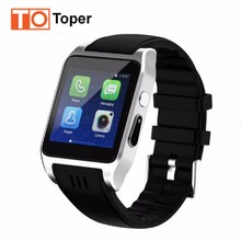 2017 New Arrival Toper X86 Bluetooth Smart Watch Phone Android 5.1 4GB Support 3G Wifi Camera SIM Card Skype Whatsapp Facebook