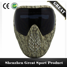 GREAT Grassland Camo Tactical Military PAINTBALL MASK DYE I4 Dual Lenses Goggle(China)