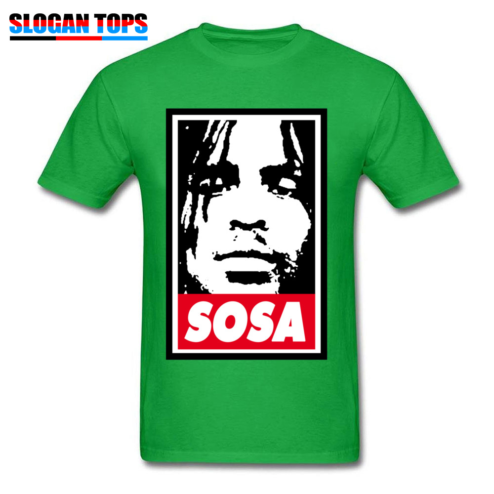 Sosa Chief Keef 1151 Tops Shirts Brand New O Neck Design Short Sleeve All Cotton Men\`s Top T-shirts Street Tees Sosa Chief Keef 1151 green