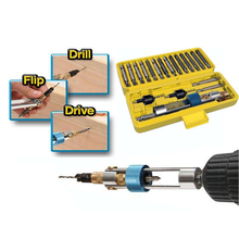 JOSTO 20Pcs BESTBUY Half Time Drill Driver Multi Screwdriver Sets Updated Version 16 Different Kinds Head DZ-416B(Hong Kong)