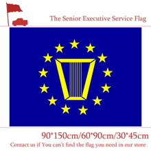 60*90cm 90*150cm The Senior Executive Service Flag American 3x5ft Digital Printing Banner 30*45cm Car Flag(China)