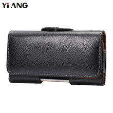 Buy YIANG Second Layer Genuine Leather Waist Bag Waist Packs Fanny Pack Men Mobile Phone Bags Belt Clip Bag Luxury 7 size Black for $10.44 in AliExpress store