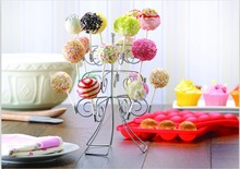 3 Tier 18 Cake Pops Display Holder Lollipop Stand Base Party Wedding Decoration