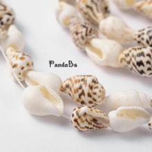 Natural Sea Shell Conch Loose Jewelry Making Summer Necklace Bracelet Bead Strands, 5.5~7.5mm, Hole: 2mm; about 153pcs/strand(China)