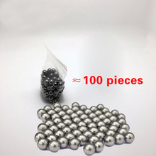 Hot sale 100pcs/lot 8mm outdoor Hunting Slingshot Pinball Stainless ammo Mini shot Steel Balls
