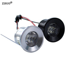 ZINUO 5pcs/Lot 1W 3W Mini LED Downlights Cabinet Lamps Epistar LED Spot light Cabinet Light With Led Driver AC85-265V(China)
