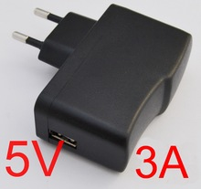 1PCS High quality IC program 5V 3A EU plug USB Charger Power Adapter with USB Charger for Tablet PC 5V3000mA(China)
