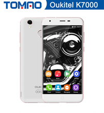 Original 5.0'' Oukitel k7000 Smartphone Android 6.0 MTK6737 Quad Core Mobile Phone 2GB 16GB 1280*720 Fingerprint 4G Cell Phone