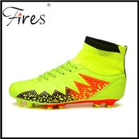 Vuurt-Lange-Spikes-Voetbal-Laarzen-Schoenen-Voor-Mannen-Outdoor-Voetbal-Zomer-En-Herfst-Enkel-Originele-Voetbal (1)
