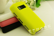 NEW FASHION PLASTIC NET HARD DREAM MESH HOLES CASE COVER For Nokia c6 -01
