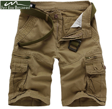 2017 New Fashion Style Summer Men's Tactical Military Shorts Cargo Casual Beach Jeans Summer Men Short Trousers Shorts(China)