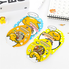 60PCS/Pack Creative Sanrio Gudetama Lazy Egg Sealing Stickers Diary Label Stickers Pack Decorative Scrapbooking PVC DIY Stickers