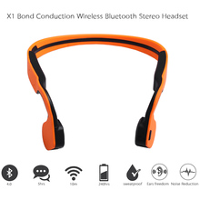 Bone Conduction Wireless Bluetooth Stereo Headset Sport Bluetooth Neck-strap Earphone Headphone Handsfree For Running SmartPhone
