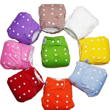Sunny ju Reusable Baby Infant Nappy Cloth Diapers Soft Covers Baby Nappy Size Adjustable Training Pants Size Adjustable 9 Colors(China)