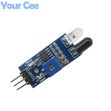 2 pcs New Obstacle Avoidance Sensor Reflection Photoelectric Module Infrared Sensor