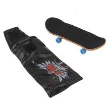 Wooden Fingerboard Skateboard Sport Games Kids Gift Mini Cool Novelty Gag Toys Classic Toy Best Gift for Skateboard Fans Hot(China)