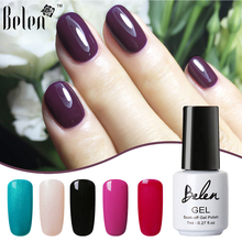 Belen 79 Colros 7ML Gel Varnish Soak Off Nail Polish Gel Nail Polish Lacquer Nail Polishes UV Led Manicure Long Lasting