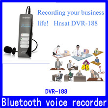 4GB Bluetooth mobile digital voice recorder,gravador de voz digital com microfone externo Hnsat DVR-188(China)